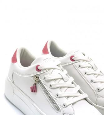 Comprar Mustang Zapatillas Yokobig blanco, rosa Altura