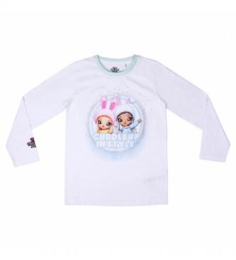Cerdá Group T-shirt à manches longues Na!na!na!na!surprise blanc