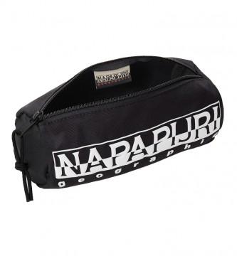 Napapijri Estuche Happy Pencil 1 negro / 0.9L /