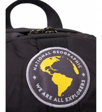 National Geographic Sac à dos New Explorer noir -25,5x15x32,5cm