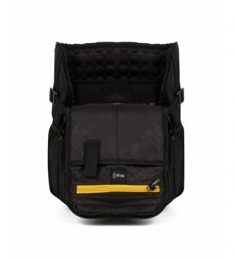 National Geographic Mochila de recuperação preta -22x16x38cm