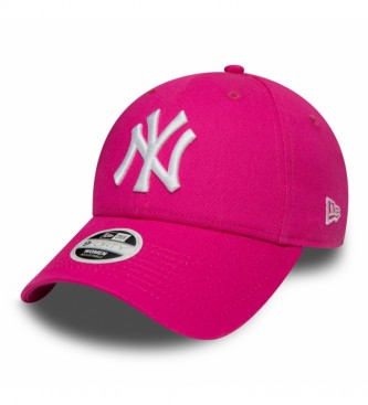 New Era Gorra New York Yankees Essential 9Forty rosa