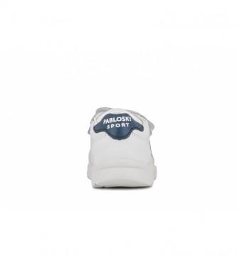 Pablosky Zapatillas de piel 277902 blanco