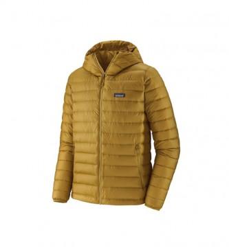 Patagonia Down Sweater Hoody da uomo giallo