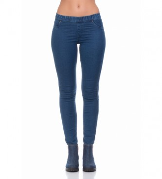 Peace and Love Jeggings Mika blu
