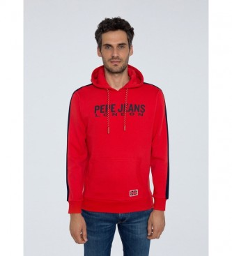 Pepe Jeans Sudadera Andre rojo