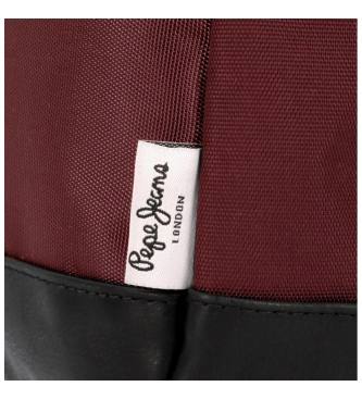 Pepe Jeans Alça de ombro Lambert burgundy -15x21x7x7cm