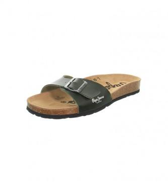 Pepe Jeans Bio Basic MFR sandálias verdes
