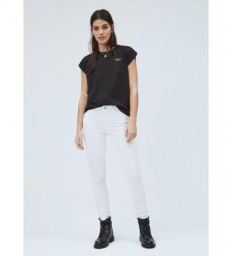 Pepe Jeans Camiseta Básica Bloom negro