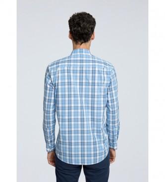 Pepe Jeans Camicia a quadri Philip blu