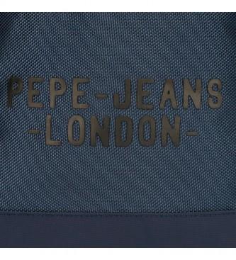 Pepe Jeans Carterón Portaordenador Pepe Jeans Bromley azul -42x33x11cm-