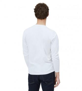 Pepe Jeans Camiseta Eggo Long blanco