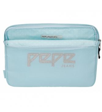 Pepe Jeans Capa para Tablet Pepe Jeans Uma sky blue -30x22x2x2cm