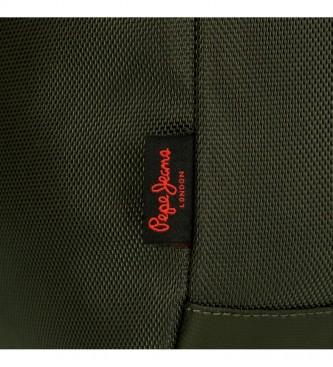 Pepe Jeans Mochila para portátil Pepe Jeans Bromley Verde