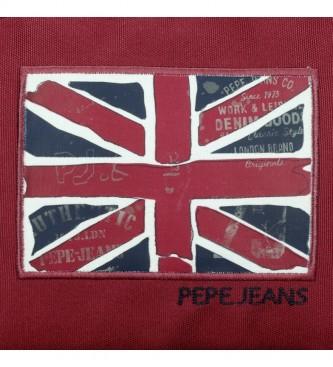 Pepe Jeans Sac à dos adaptable à deux compartiments Pepe Jeans Andy -31x46x16cm