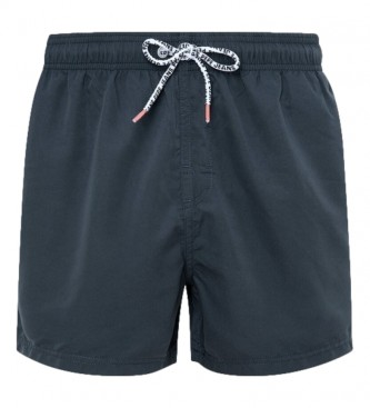 Pepe Jeans Bañador Liso New Brian negro