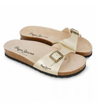 Pepe Jeans Gold Oban Spiker Sandals