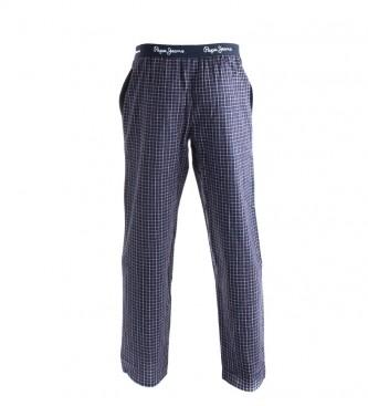 Pepe Jeans Pantalón pijama Lawley granate, marino
