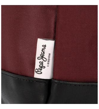 Pepe Jeans Lambert burgundy belt -23x15x2.5cm
