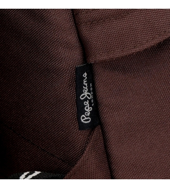 Pepe Jeans Riñonera Pepe Jeans Osset Marrón -36x16,5x7cm-