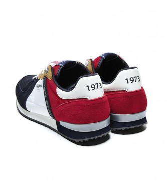 Pepe Jeans Scarpa Tinker Zero 21 rosso, blu