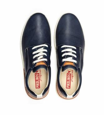 Pikolinos Chaussures en cuir Begur M7P bleu