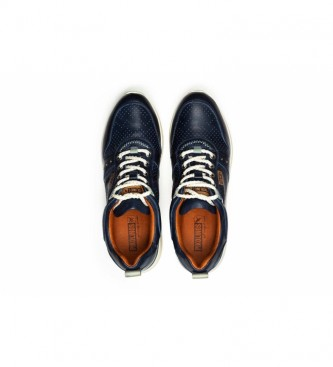 Pikolinos Leather shoes Sella W6Z blue