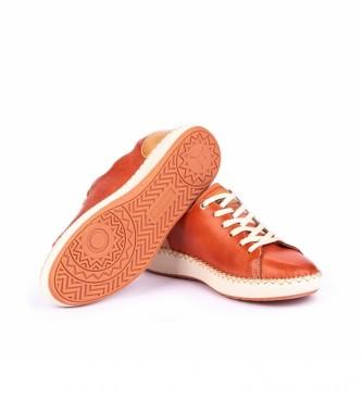 Pikolinos Scarpe Messina in pelle W6B arancione