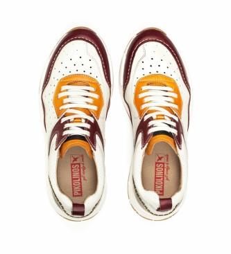 Pikolinos Sneaker in pelle Meliana M6P marrone rossiccio