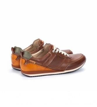 Pikolinos Liverpool M2A chaussures en cuir brun