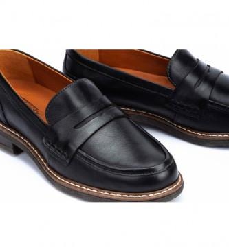 Pikolinos Aldaya mocassins en cuir noir