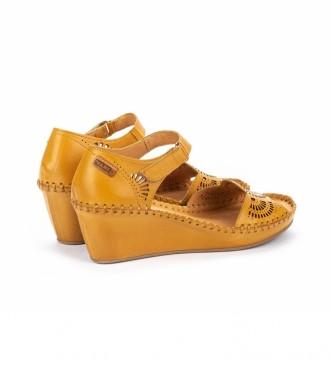 Comprar Pikolinos Sandalias de piel Margarita 943 amarillo