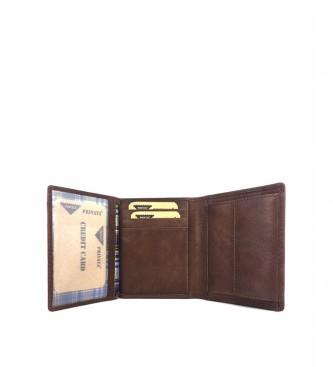 Privata Portefeuille en cuir MHPR84784 cuir -11x8,5x1cm