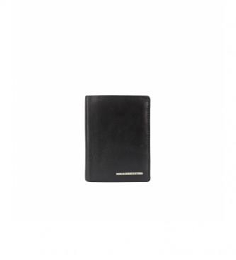 Privata Portefeuille en cuir MHPR82098 marron -11x8x1cm