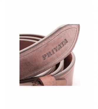Privata Ceinture en cuir CIPR73623A marron