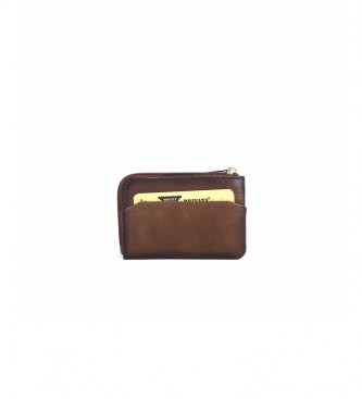 Privata Leather wallet MHPR84705 leather -7x10,5x1cm