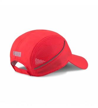 Puma Gorra Lightweight Runner rojo