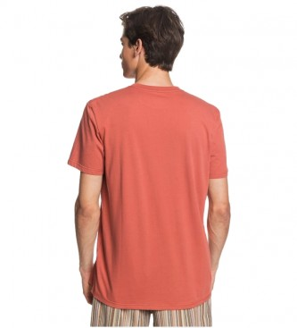 Quiksilver T-shirt New Slang M coral