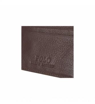 Ralph Lauren Brown Multi CC-Card Case