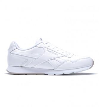Reebok Royal Glide white leather sneakers
