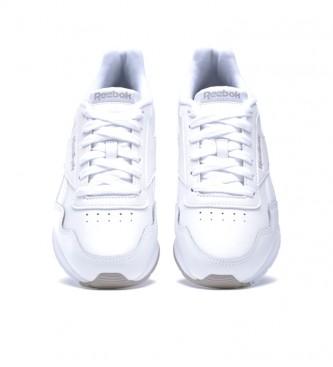 Reebok Baskets Royal Glide en cuir blanc