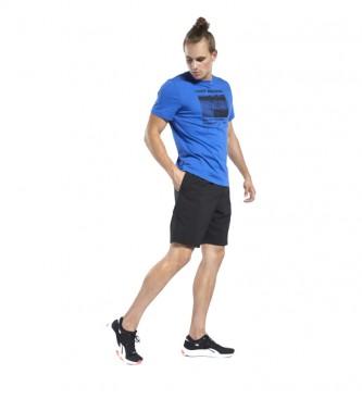 Reebok Shorts Workout Comm Woven negro
