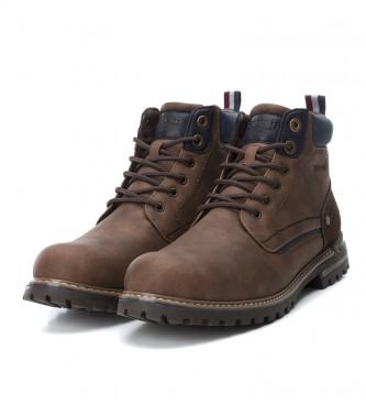 Refresh Botas de tornozelo 069057 marrom