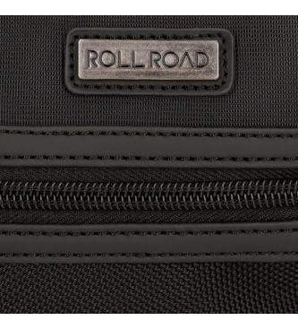 Roll Road Rotolo Strada Borsa a mano nero -24.5x15x15x6cm-