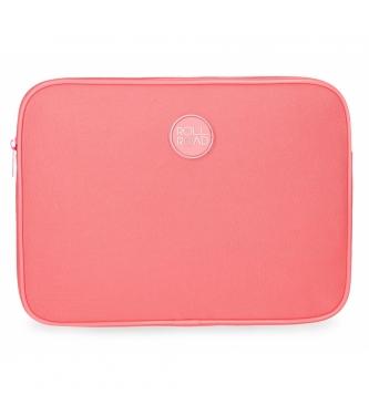 Roll Road Tablet per tablet Road Roll corallo -30x22x2cm-