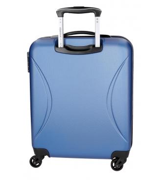 Roll Road Camboja Rígida Roll Road Suitcase da cabine -40x55x20cm- Azul