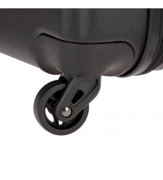 Roll Road Roll Road Cabin Suitcase Cambodia Rígido -40x55x20cm- Preto