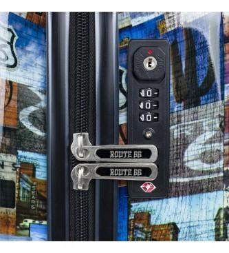 ROUTE 66 Trolley cabina R61250 nero -55x35x19 cm-