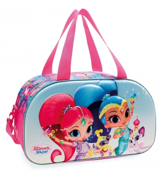 Joumma Bags Shimmer and Shine Twinsies 3D front travel bag -44x25x22cm-