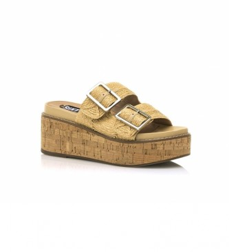 SixtySeven Sandali Tamis beige -Altezza zeppa: 7,5cm-